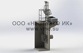 Фильтрующая корзина с подъемным механизмом КПМ
